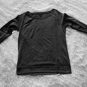 Super cute sweatshirt with bead design